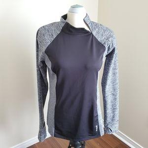 Reebok/ Black-Grey Sweater/ Size L